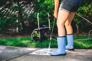 Types of Pressure Washers to Use for Driveway Art®