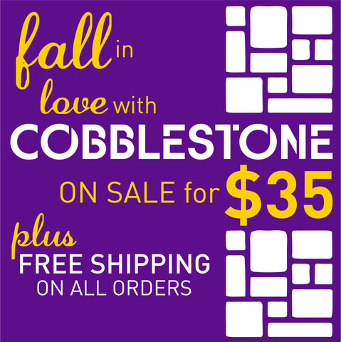 Fall-For-Cobblestone-Flyer-Driveway-Art