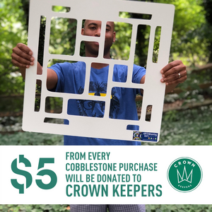 *Cobblestone Driveway Art Stencil | $5 Donation CrownKeepers