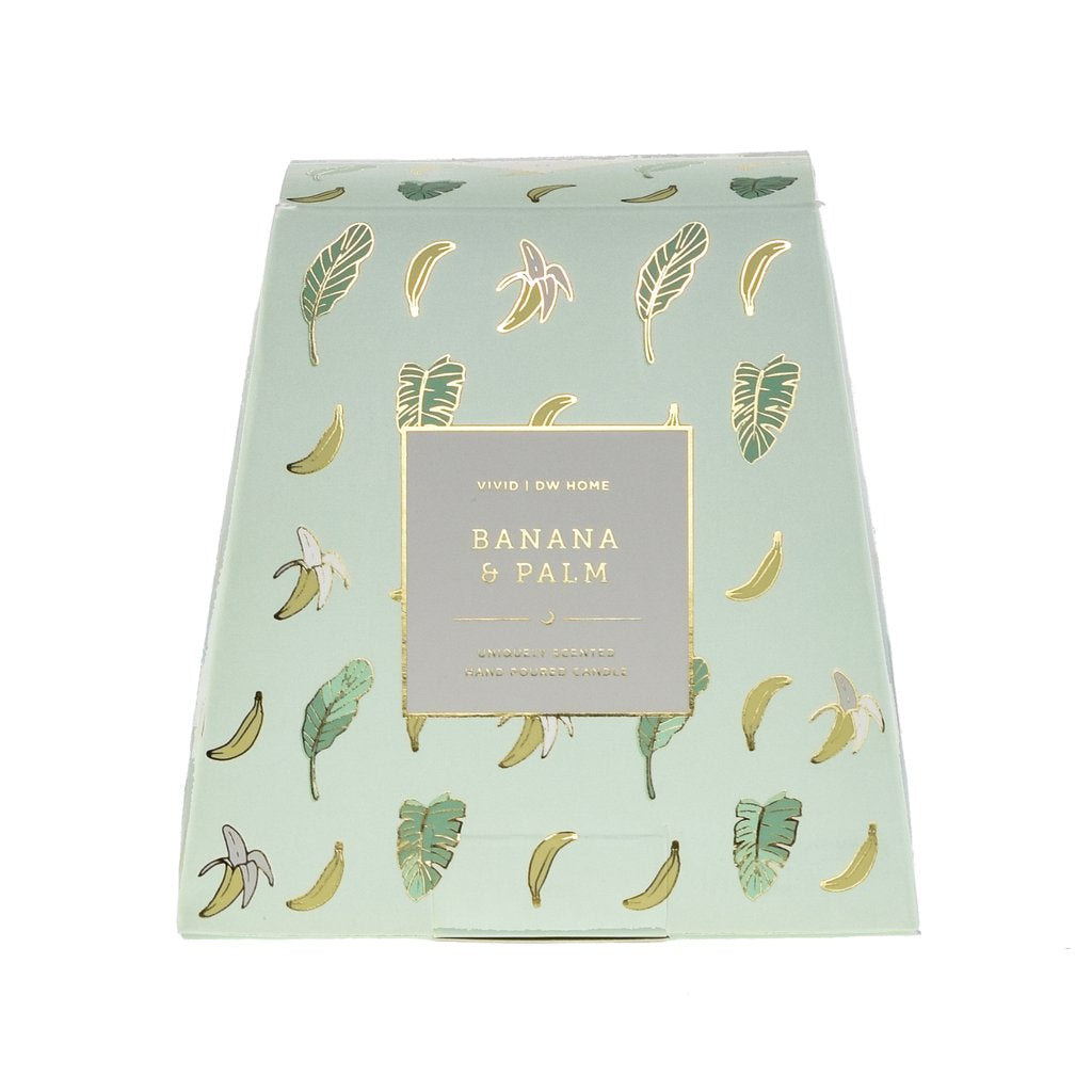 Banana & Palm Candle - Imported Secrets