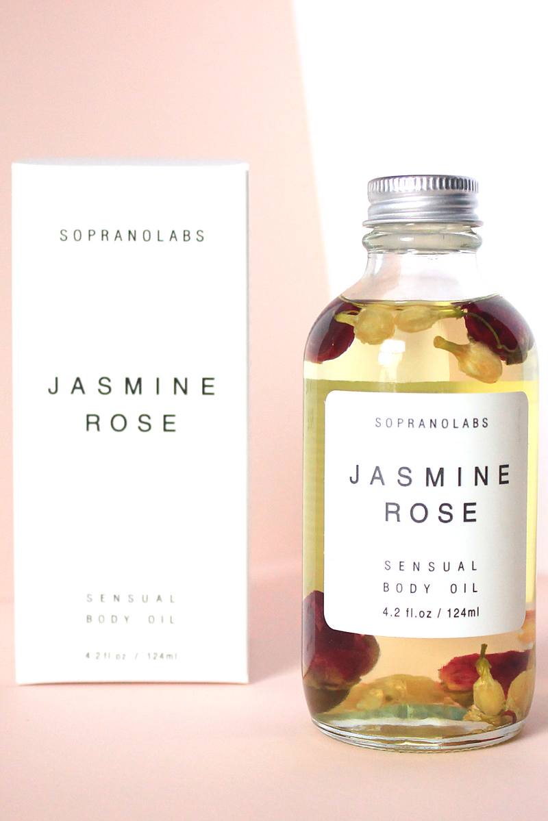 Jasmine & Rose Sensual Body Oil - Magnolia Studio & Co