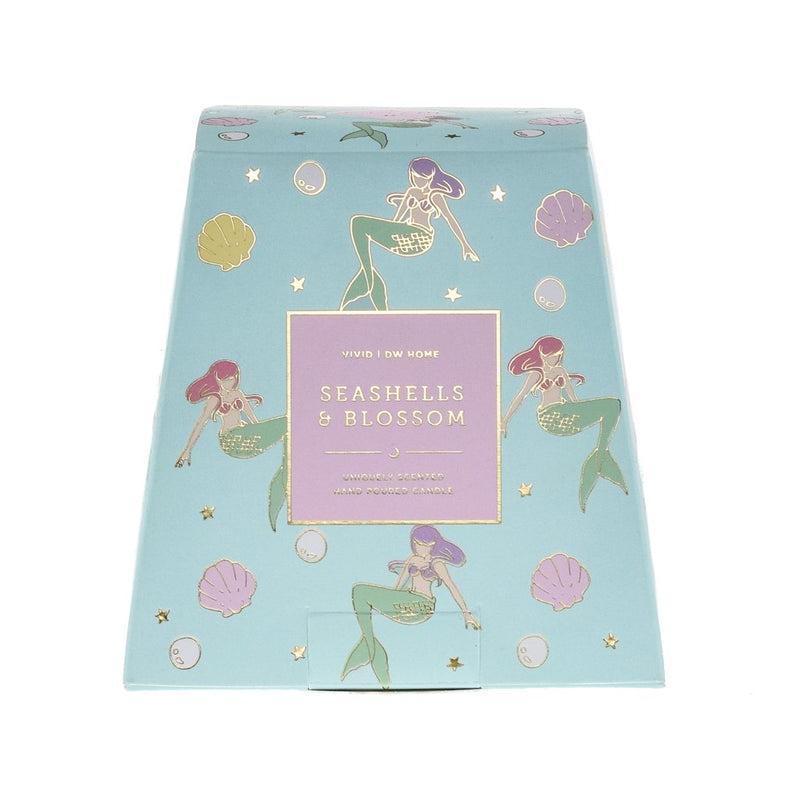 Seashells & Blossom Candle - Magnolia Studio & Co