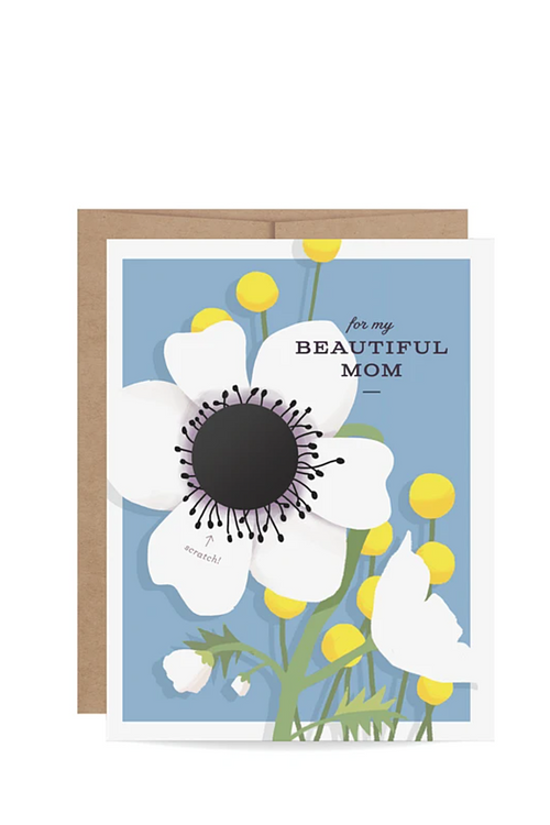 For My Beautiful Mom Scratch-off - Magnolia Studio & Co