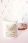 Cinnamon Vanilla Soy Candle - Magnolia Studio & Co
