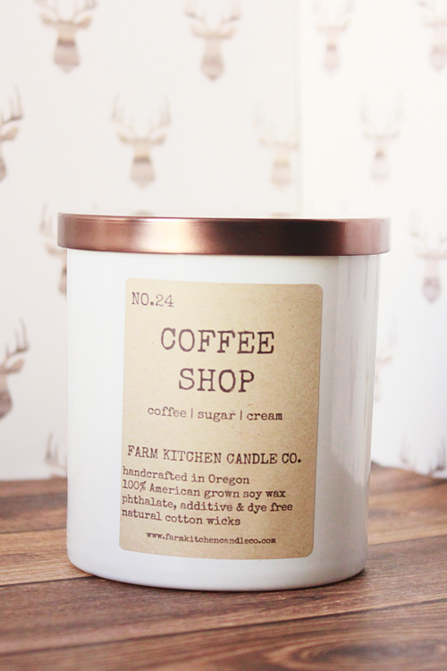 !!! Coffee Shop Soy Candle - Magnolia Studio & Co