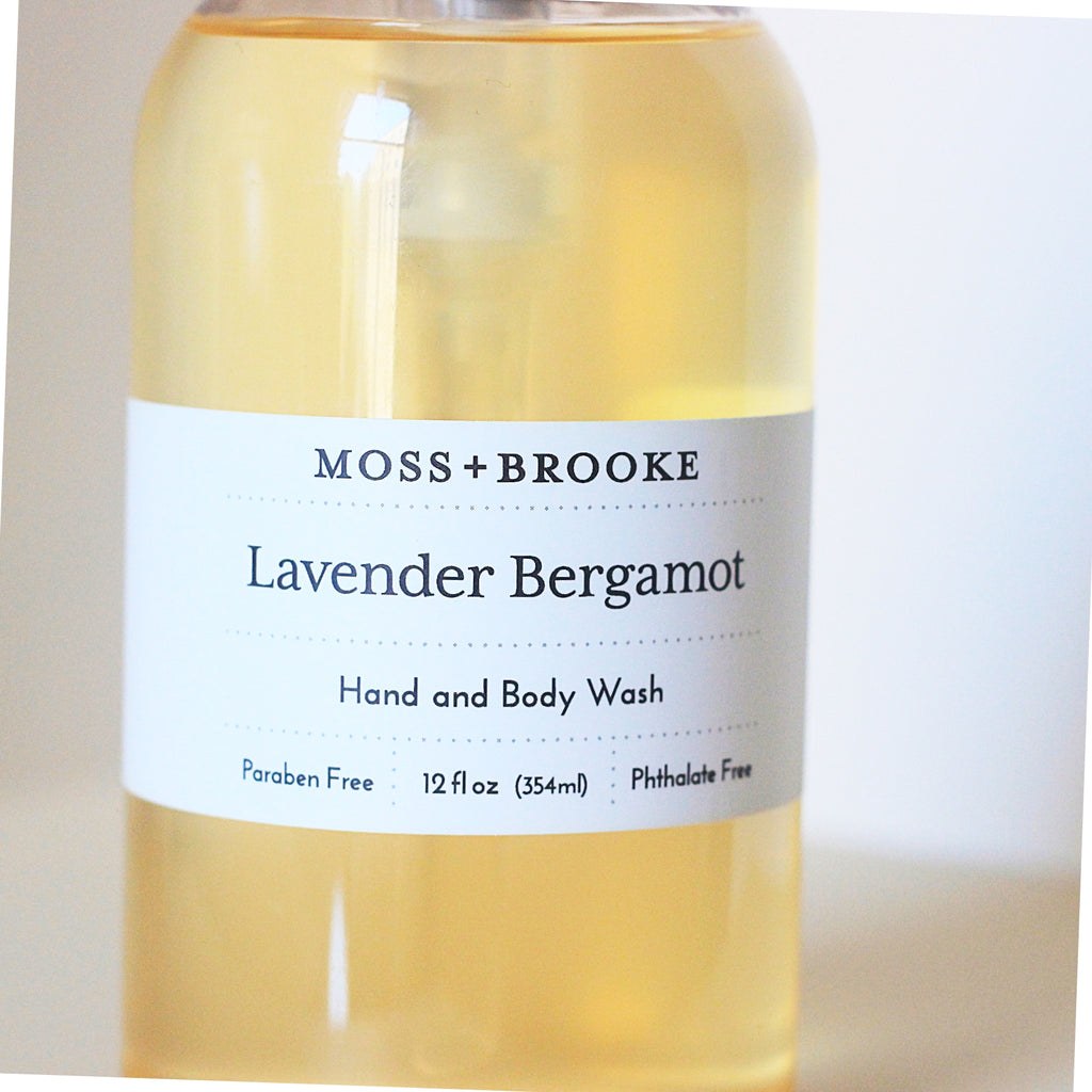 Lavender Bergamot Body Wash - Magnolia Studio & Co
