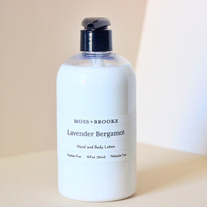 Lavender Bergamot Body Lotion - Magnolia Studio & Co