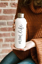 Mom Life Metal Water Bottle - Magnolia Studio & Co
