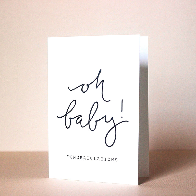 Oh Baby! Card - Magnolia Studio & Co