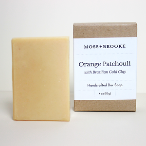 Orange Patchouli Bar Soap - Magnolia Studio & Co