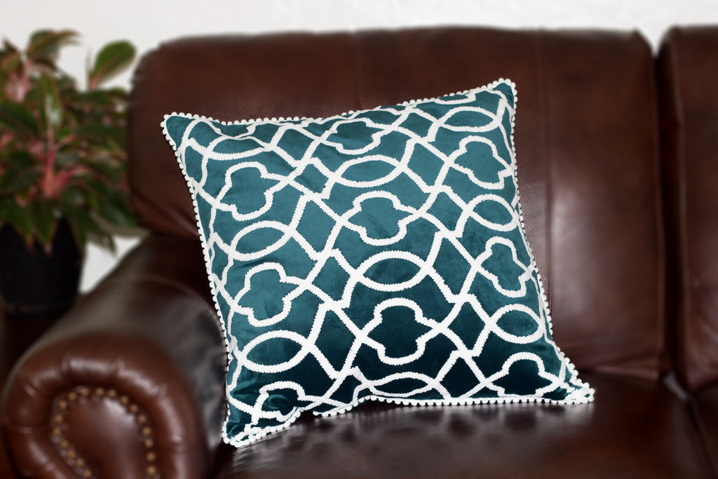Emery Velvet Decor Pillow - Imported Secrets