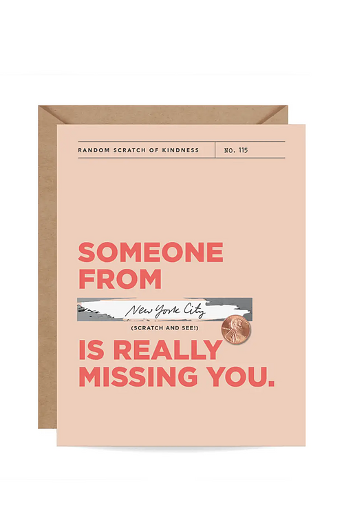 Really Missing You Scratch-off Card - Magnolia Studio & Co