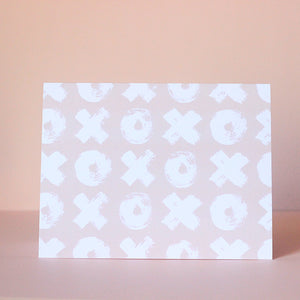 Brush XOXO Card - Magnolia Studio & Co
