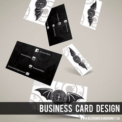 Business Card Design by Alexandra Laine