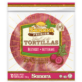 Web rendering of product packaging for Sonora Foods in the GTA