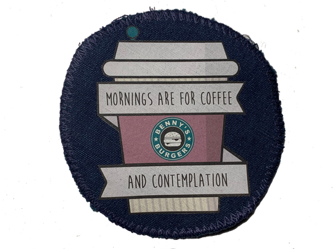 Coffee & Contemplation - Patch