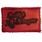 Daddy's Lil Monster (Harley Quinn) Patch