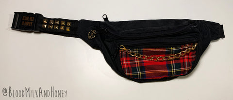 Plaid Patch - Fanny Pack