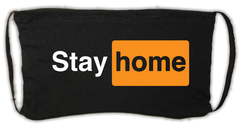 Stay Home (PornHub) Mask