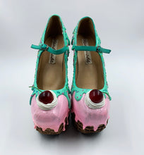 Load image into Gallery viewer, Ice Cream Sundae Heelless Wedge Platform Shoes