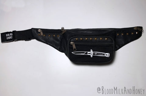 Switchblade Print - Fanny Pack