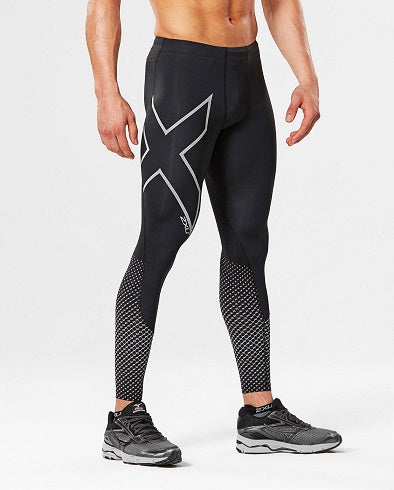2XU Mens Reflect Compression Tights