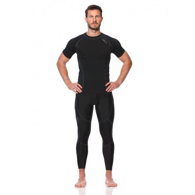 SIX30 Men's Core Short Sleeve Compression Top - Black