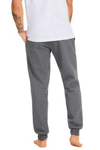 Champion Mens VF Script Pants - Heather Granite/Black