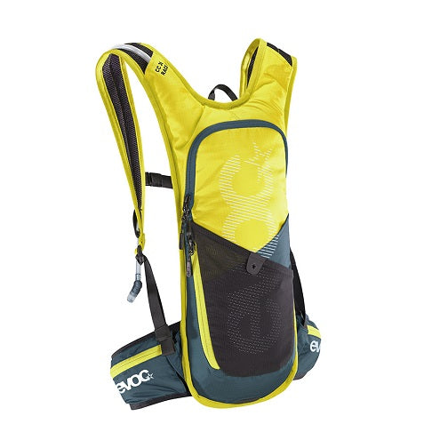 EVOC 3L RACE CROSS COUNTRY HYDRATION PACK + 2L BLADDER - SULPHUR/SLATE