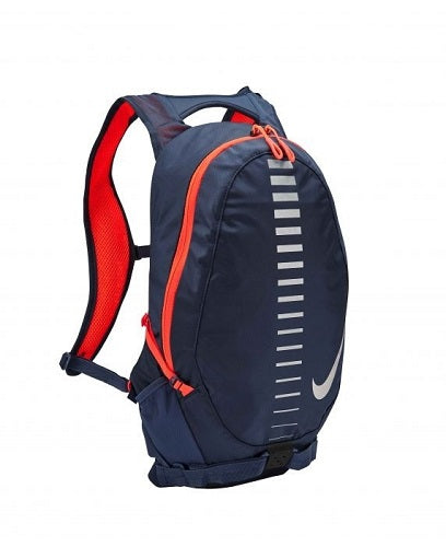 Nike Running Commuter Backpack 15L - Thunder Blue/Total Crimson