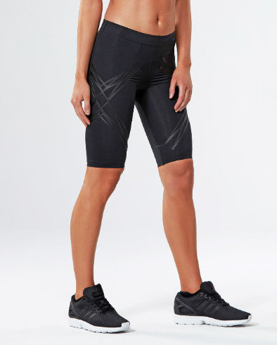 2XU Womens LOCK Compression Shorts