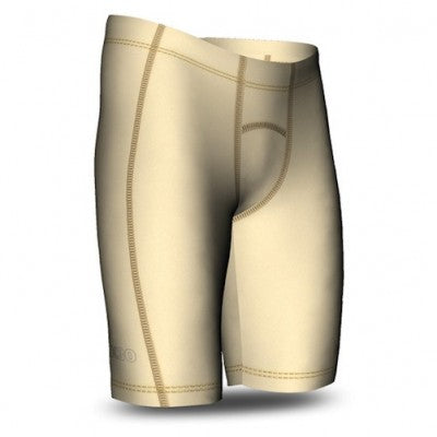 SIX30 Men's Core Compression Shorts - Cream