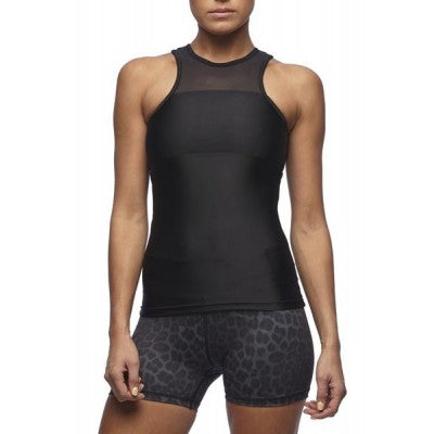 SIX30 Women's Compression Mesh Tank - Midnight