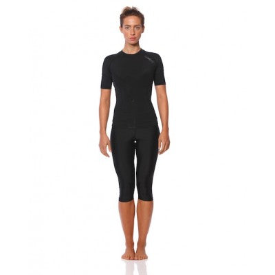 SIX30 Women's Core 3/4 Compression Tights