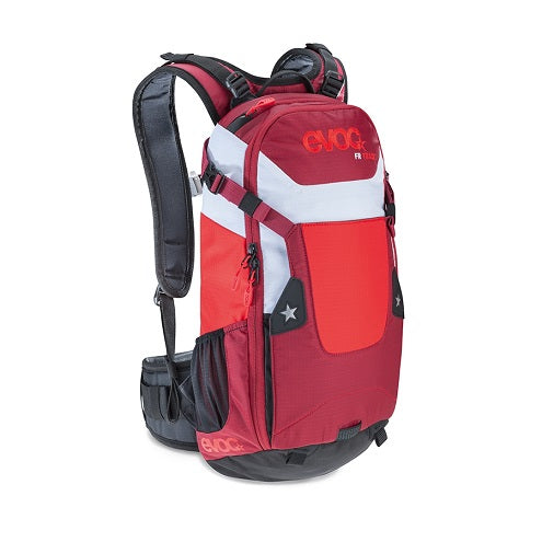 EVOC FR TRACK 10L  BACKPACK - RED/RUBY