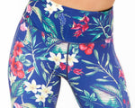 Gem Active Floral 7/8 Sports Tights