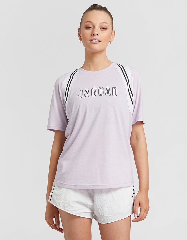 Jaggad Hawaii Insert Striped Tee