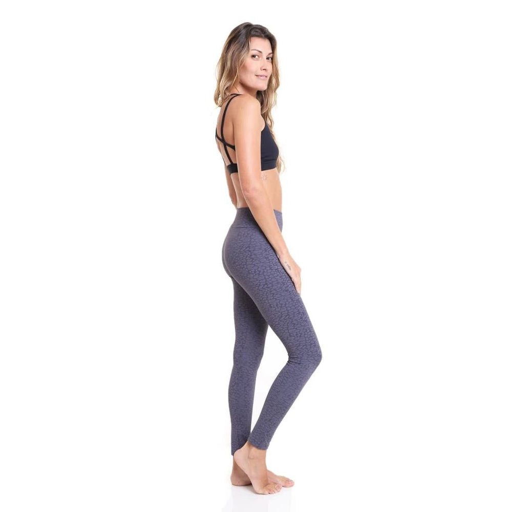 Liquido Jacquard Legging Dark Grey