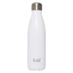 Kabi White Water Bottle