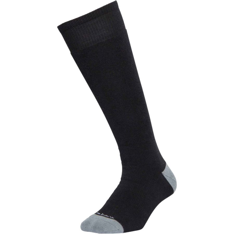 Le Bent Alpha Ski Socks - Black