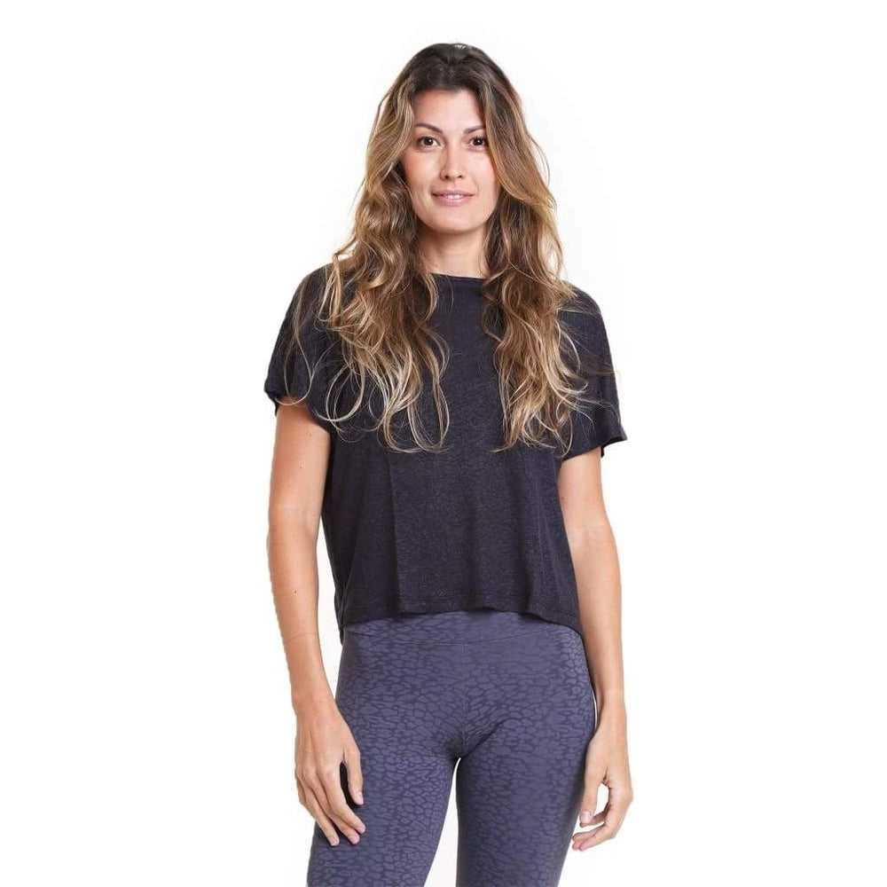 Liquido Lucy Crop Top Black