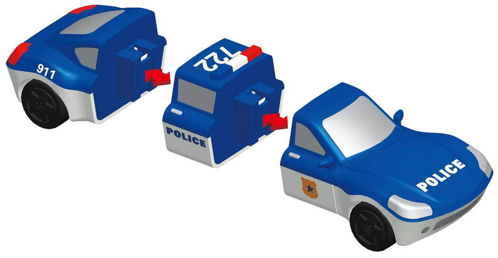 Popular Playthings Mix or Match Vehicles - Police