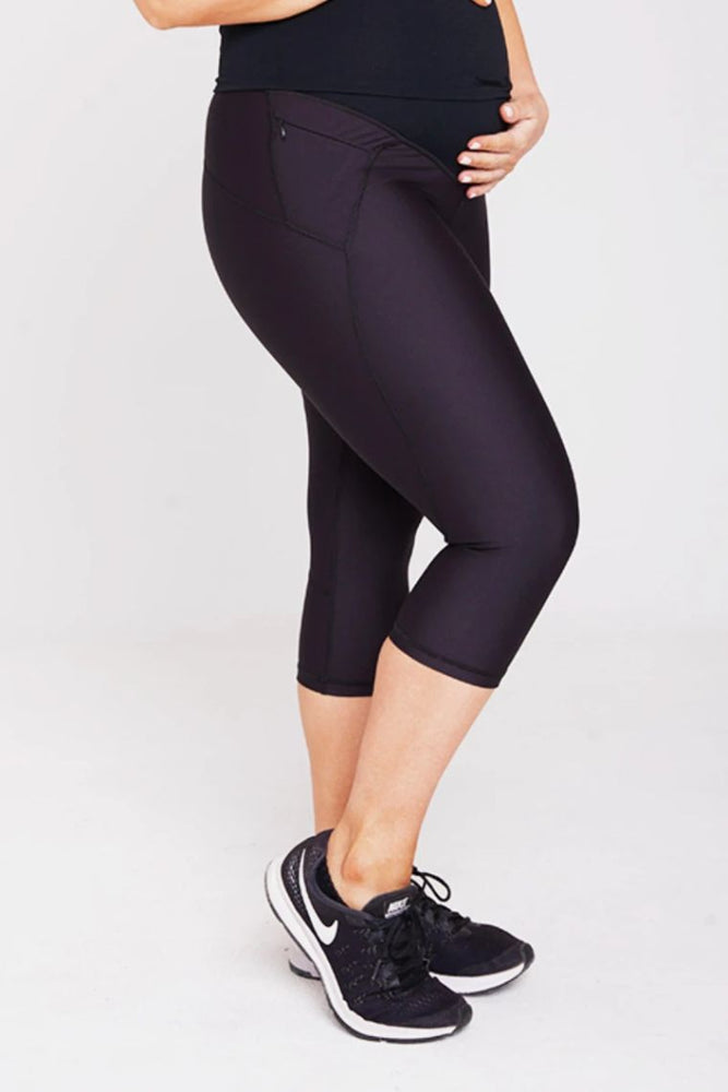 Mummactiv 3/4 Pregnancy & Postpartum Sports Tights