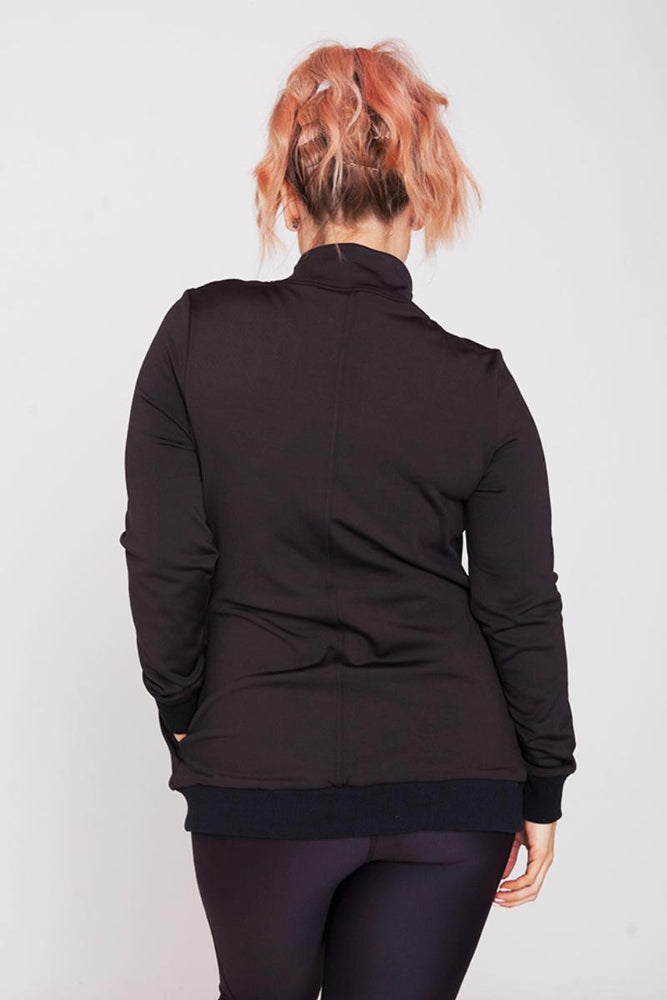 Mummactiv Black Convertible Breastfeeding Jacket