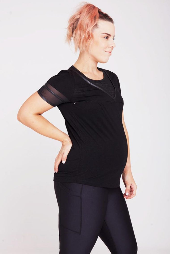 Mummactiv Cut It Out Nursing Tee