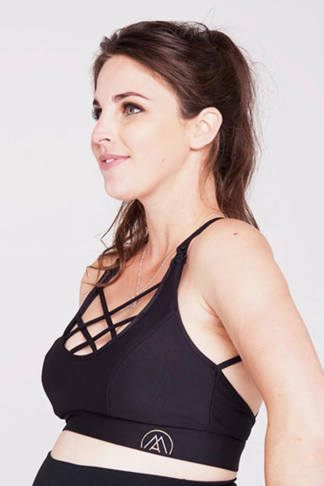 Mummactiv String It Maternity Sports Crop