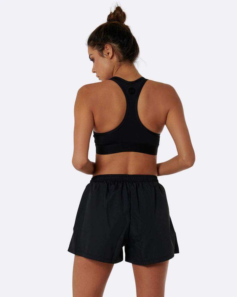 Nicky Kay Black High Waist Shorts