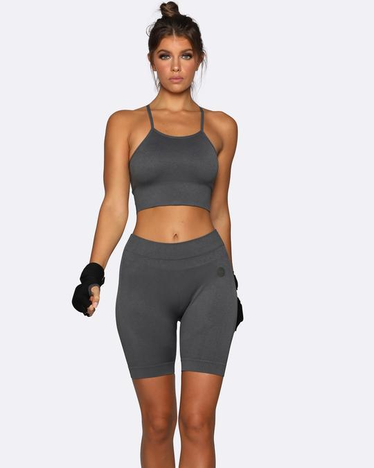 Nicky Kay Seamless Sports Bra - Charcoal