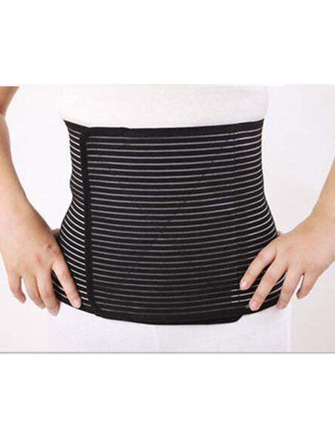 POST PREGNANCY BELLY BAND STRIPE