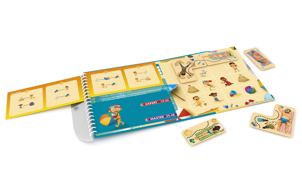 SMART Games Puzzle Beach - Magnetic Travel